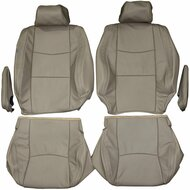 2002-2009 Lexus GX470 Custom Real Leather Seat Covers (Front)