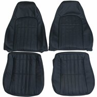 1997-2002 Chevrolet Camaro Z28 Custom Real Leather Seat Covers (Front)