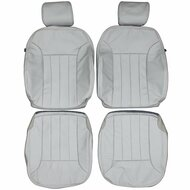 2006-2008 Mercedes Benz W164 M-Class ML350 Custom Real Leather Seat Covers (Front)