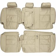 1998-2007 Toyota Land Cruiser J100 Custom Real Leather Seat Covers (Rear)