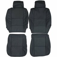 1996-2002 Toyota Prado J90 Custom Real Leather Seat Covers (Front)