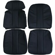 1964-1965 Ford Thunderbird T-Bird Custom Real Leather Seat Covers (Front)