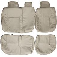 2005-2014 Toyota Tacoma Custom Real Leather Seat Covers (Rear)