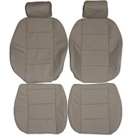 1992-1998 BMW E36 Coupe Sedan Standard Custom Real Leather Seat Covers (Front)