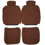 2001-2003 Ford F-150 King Ranch Crew Custom Real Leather Seat Covers (Front)