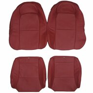 2004-2006 Pontiac GTO Custom Real Leather Seat Covers (Rear)