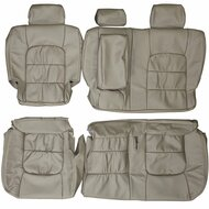 1998-2007 Lexus LX470 J100 Custom Real Leather Seat Covers (Rear)