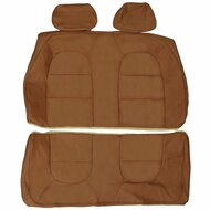 1990-1993 Saab 900 Convertible Custom Real Leather Seat Covers (Rear)
