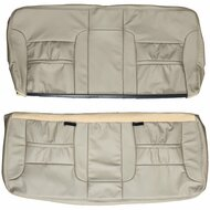 1999-2005 Ford Excursion Custom Real Leather Seat Covers (3rd row)