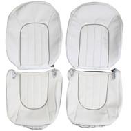 1995-1997 Jaguar Vanden Plas Custom Real Leather Seat Covers (Front)