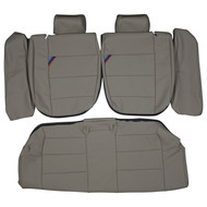 1992-1998 BMW E36 M3 Coupe Custom Real Leather Seat Covers (Rear)
