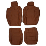 2007-2015 Jaguar XK X150 Custom Real Leather Seat Covers (Front)