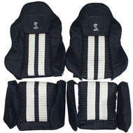 Recaro Speed Racing SR-B Custom Real Leather Seat Covers (Front)
