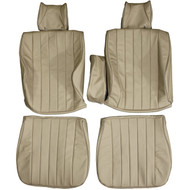 1976-1986 Mercedes Benz 280 300 W123 C123 Coupe Custom Real Leather Seat Covers (Front)