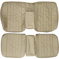 1976-1986 Mercedes Benz 280 300 W123 C123 Coupe Custom Real Leather Seat Covers (Rear)