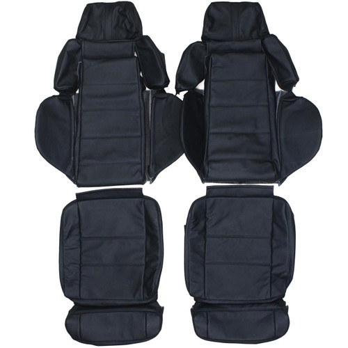 Recaro Orthoped Custom Real Leather Seat Covers Front