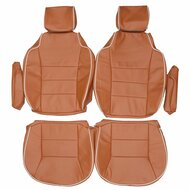1999-2004 Land Rover Discovery II Custom Real Leather Seat Covers (Front)