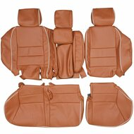 1999-2004 Land Rover Discovery II Custom Real Leather Seat Covers (Rear)