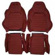 Recaro Speed Racing SR-D Custom Real Leather Seat Covers (Front)