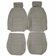 1999-2004 Ford Mstang GT Custom Real Leather Seat Covers (Front)
