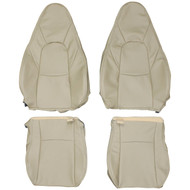 2001-2005 Mazda MX-5 Miata Custom Real Leather Seat Covers (Front)