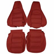1985-1995 Porsche 928 Custom Real Leather Seat Covers (Front)