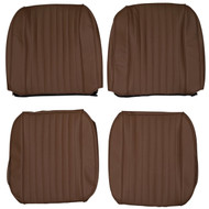 1960-1980 Saab 96 Custom Real Leather Seat Covers (Front)