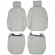 1995-1999 Jaguar XJR Custom Real Leather Seat Covers (Front)
