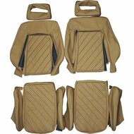 1980-1984 Audi Quattro Custom Real Leather Seat Covers (Front)