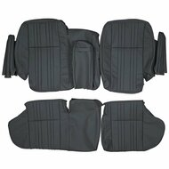 1985-1989 Range Rover Classic Custom Real Leather Seat Covers (Rear)