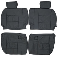 1998-2007 Toyota Land Cruiser J100 Custom Real Leather Seat Covers (3rd row)