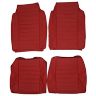 1978-1981 Chevrolet El Camino SS Custom Real Leather Seat Covers (Front)