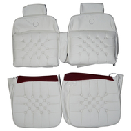 1979-1985 Cadillac Eldorado Biarritz Custom Real Leather Seat Covers (Front)
