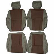 1995-2002 Toyota 4Runner Custom Real Leather Seat Covers (Front)