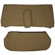 1986-1993 Volvo 240 Custom Real Leather Seat Covers (Rear)