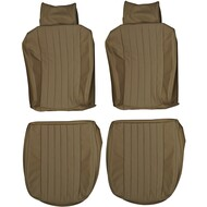 1972-1979 Mercedes Benz R107 SL C107 SLC Custom Real Leather Seat Covers (Front)