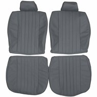 1980-1984 Mercedes Benz R107 SL C107 SLC Custom Real Leather Seat Covers (Front)