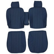 1985-1989 Mercedes Benz R107 SL C107 SLC Custom Real Leather Seat Covers (Front)