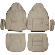 1999-2001 Ford Excursion Custom Real Leather Seat Covers (Front)
