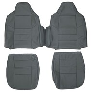 2002-2005 Ford Excursion Custom Real Leather Seat Covers (Front)