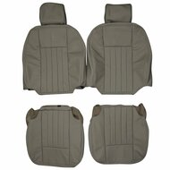 2003-2006 Lincoln Navigator Custom Real Leather Seat Covers (Front)