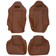 1989-1994 Nissan Skyline GT-R R32 Custom Real Leather Seat Covers (Front)
