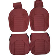 1979-1989 Alfa Romeo Spider Custom Real Leather Seat Covers (Front)