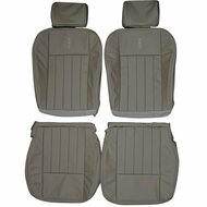 2003-2006 Lincoln Navigator Custom Real Leather Seat Covers (Rear)