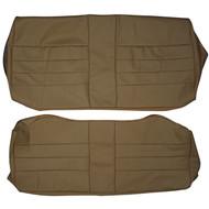 1975-1978 Cadillac Eldorado Custom Real Leather Seat Covers (Rear)