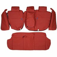 1999-2006 BMW E53 X5 Custom Real Leather Seat Covers (Rear)