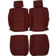 1978-1989 BMW E24 6-Series 635csi Custom Real Leather Seat Covers (Front)