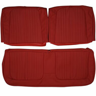 1964 Ford Galaxie Custom Real Leather Seat Covers (Front)