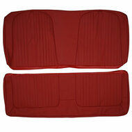1964 Ford Galaxie Custom Real Leather Seat Covers (Rear)