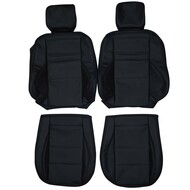 1998-2000 Mercedes Benz C43 AMG W202 Custom Real Leather Seat Covers (Front)